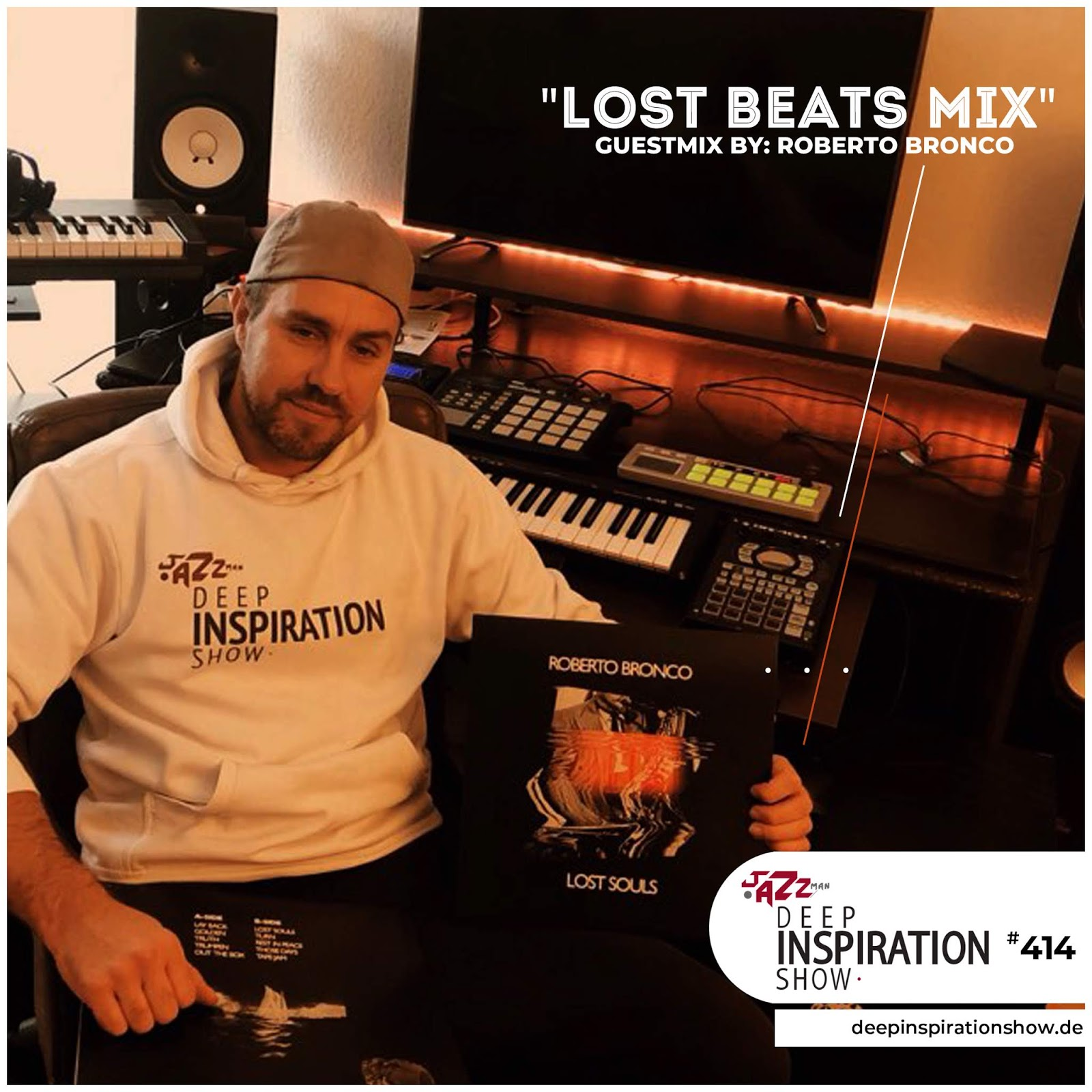 "Show 414 ""Guestmix by Roberto Bronco"" [LOST BEATS TAPE]"